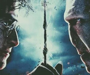 harry potter, voldemort, and hp7 image