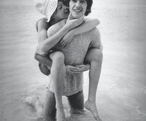 george harrison, love, and pattie boyd image