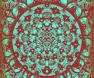 green, indie, and pattern image
