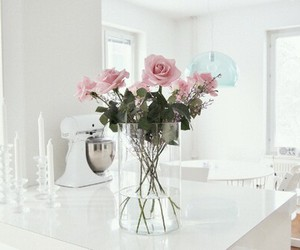 appartment, flowers, and loft image