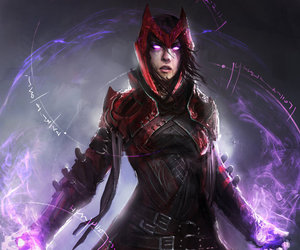 scarlet witch, Marvel, and Avengers image