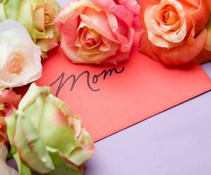 mom, rose, and love image