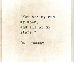 sun moon stars quote love image
