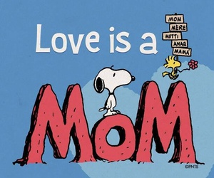 mom and snoopy image