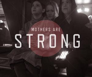 mom, mother, and strong image