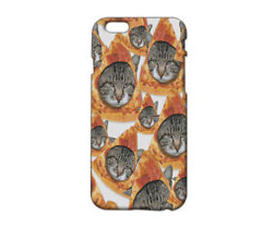 cat, pizza, and pizza cat image