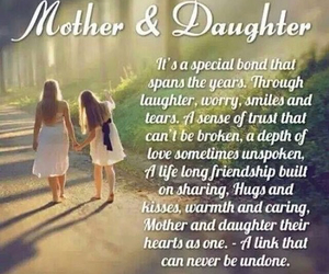 daughter, mother, and quotes image