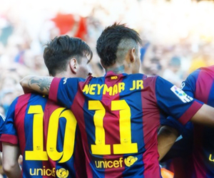 Barcelona, messi, and lionel image