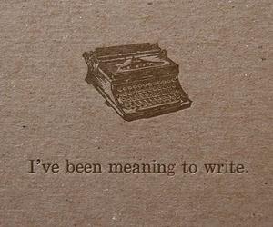 typewriter, quotes, and write image