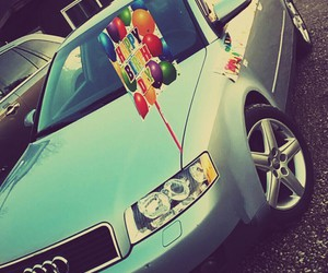 a4, audi, and gift image