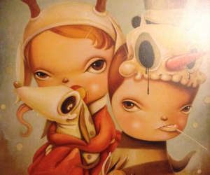 art, pop surrealism, and lowbrow image