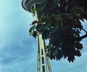 seattle, pnw, and Space Needle image