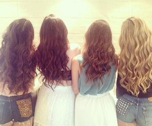 curly, friend, and kyliejenner image