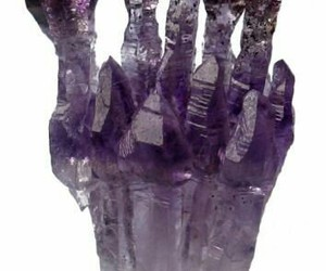 amethyst, crystal, and purple image