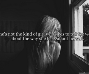girl, sad, and quotes image