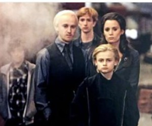 malfoy, slytherin, and draco image