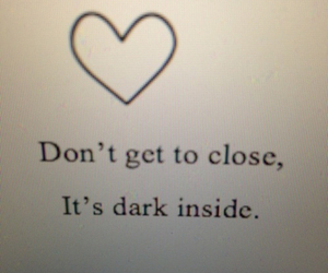 dark, quote, and demon image