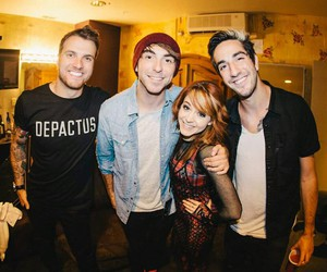 all time low and lindsey stirling image