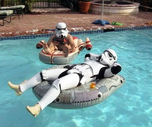star wars and pool image