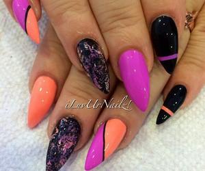nailart and stiletto nails image