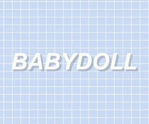 header, babydoll, and blue image