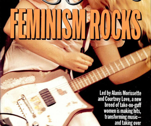 90's, babes in toyland, and feminism image