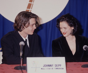 90's, johnny depp, and johnny deep image