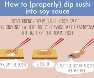 food, sushi, and food hacks image