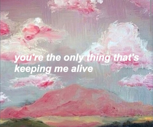 art, pink, and love image