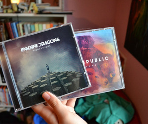 music, imagine dragons, and one republic image