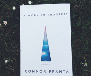 book, a work in progress, and connor franta image
