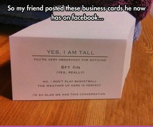 awesome, business, and cards image