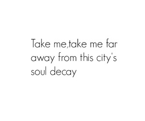 city, cry, and decay image