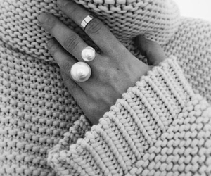 rings, style, and black and white image