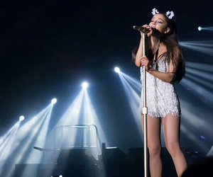 ariana grande and concert image
