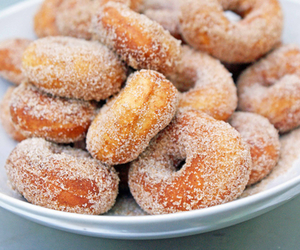 donuts, food, and sugar image