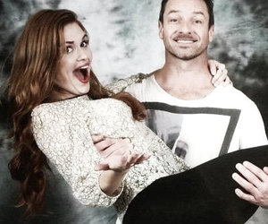 teen wolf, holland roden, and ian bohen image