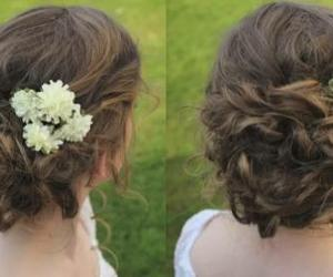 curly and updo image