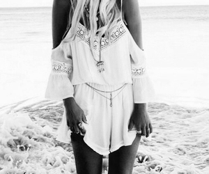 summer, fashion, and beach image