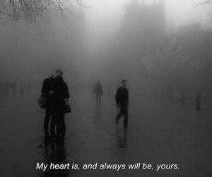 heart and rain image