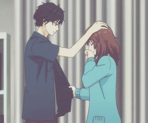 anime, ao haru ride, and couple image