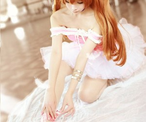 anime, cosplay, and evangelion image