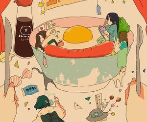 Aki, anime, and drawing image