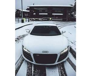 audi, snow, and white image