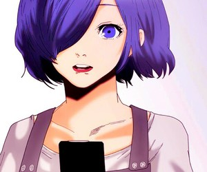 touka, anime, and ghoul image