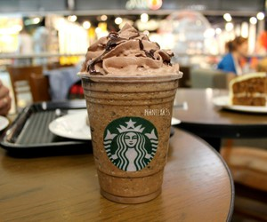 starbucks, food, and chocolate image