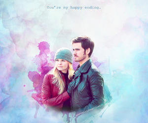 once upon a time, captainswan, and ouat image