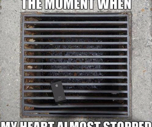 funny, heart, and iphone image