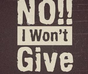 give and up image