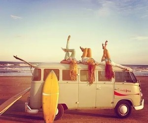 summer, beach, and friends image
